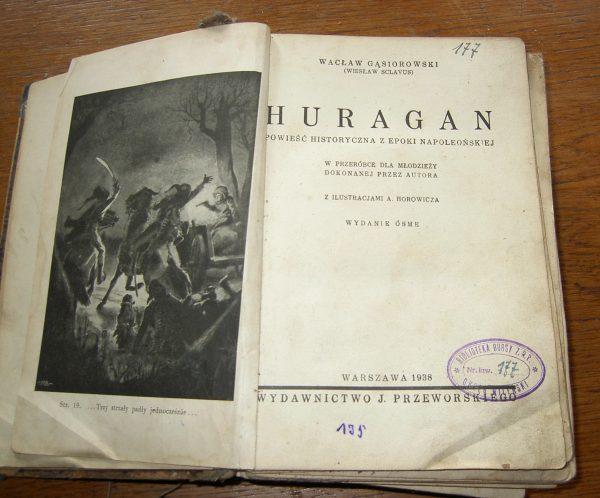 Waclaw Gasiorowski   HURAGAN      1938