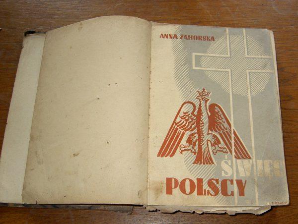 Anna Zahorska SWIEC POLSCY   1936