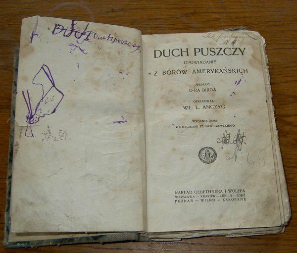 D.ra Birda DUCH PUSZCZY  1925