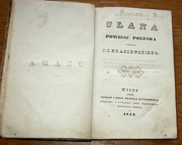 J.I. Zraszewsziego ULANA   1843