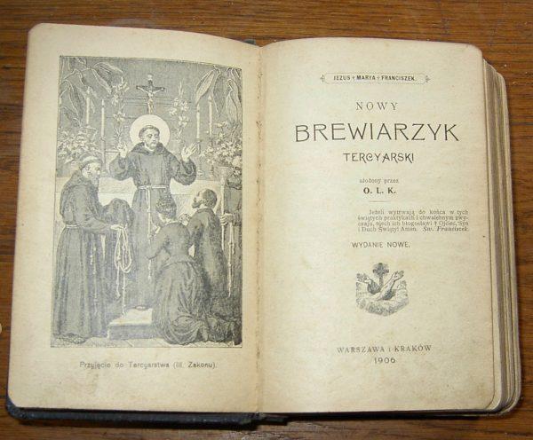NOWY  BREWIARZYK  1906
