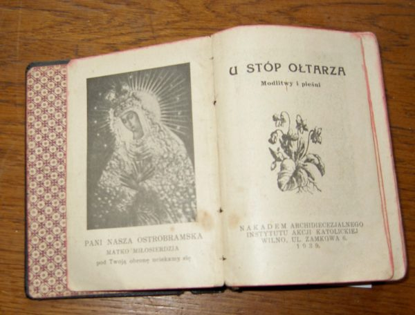 MALDAKNYGĖ  1939 Wilno